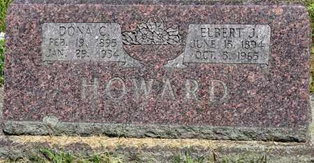 HOWARD, DONA C - Conway County, Arkansas | DONA C HOWARD - Arkansas Gravestone Photos