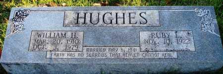 HUGHES, WILLIAM H. - Conway County, Arkansas | WILLIAM H. HUGHES - Arkansas Gravestone Photos