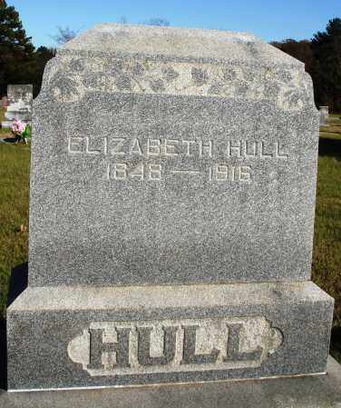 HULL, ELIZABETH - Conway County, Arkansas | ELIZABETH HULL - Arkansas Gravestone Photos