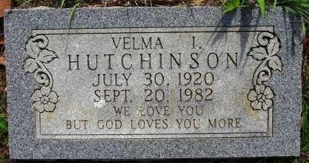 HUTCHINSON, VELMA I - Conway County, Arkansas | VELMA I HUTCHINSON - Arkansas Gravestone Photos