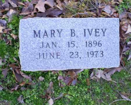 IVEY, MARY B. - Conway County, Arkansas   MARY B. IVEY - Arkansas Gravestone Photos