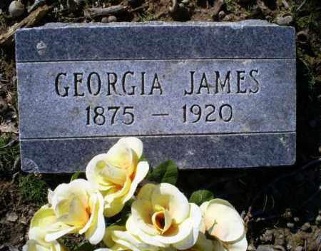 JAMES, GEORGIA - Conway County, Arkansas | GEORGIA JAMES - Arkansas Gravestone Photos