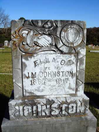 JOHNSTON, ELLA O. - Conway County, Arkansas   ELLA O. JOHNSTON - Arkansas Gravestone Photos
