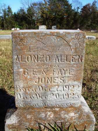 JONES, ALONZO ALLEN - Conway County, Arkansas   ALONZO ALLEN JONES - Arkansas Gravestone Photos
