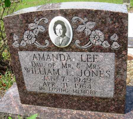 JONES, AMANDA LEE - Conway County, Arkansas | AMANDA LEE JONES - Arkansas Gravestone Photos
