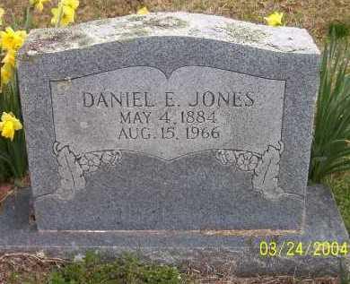 JONES, DANIEL EDCANA - Conway County, Arkansas | DANIEL EDCANA JONES - Arkansas Gravestone Photos