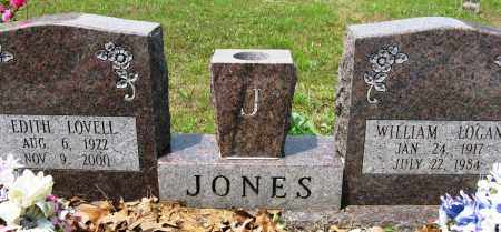 LOVELL JONES, EDITH - Conway County, Arkansas | EDITH LOVELL JONES - Arkansas Gravestone Photos