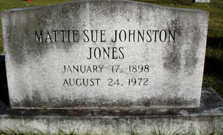 JOHNSTON JONES, MATTIE SUE - Conway County, Arkansas | MATTIE SUE JOHNSTON JONES - Arkansas Gravestone Photos