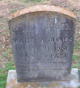 WALKER JONES, MARTHA A. - Conway County, Arkansas | MARTHA A. WALKER JONES - Arkansas Gravestone Photos