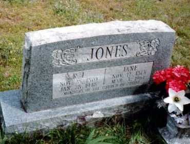 JONES, JANE - Conway County, Arkansas | JANE JONES - Arkansas Gravestone Photos