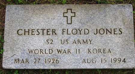 JONES (VETERAN 2 WARS), CHESTER FLOYD - Conway County, Arkansas | CHESTER FLOYD JONES (VETERAN 2 WARS) - Arkansas Gravestone Photos