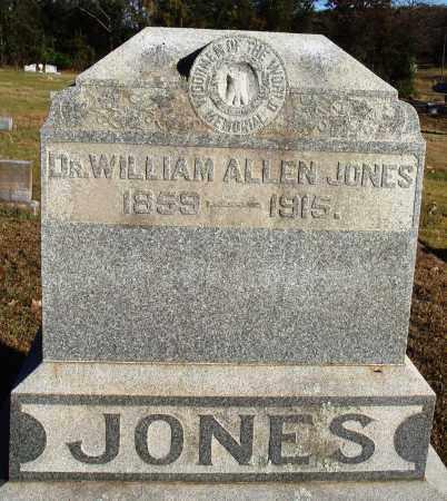 JONES, WILLIAM ALLEN - Conway County, Arkansas | WILLIAM ALLEN JONES - Arkansas Gravestone Photos