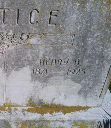 JUSTICE, HENRY A. - Conway County, Arkansas | HENRY A. JUSTICE - Arkansas Gravestone Photos