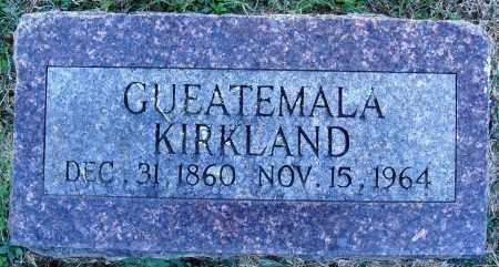 KIRKLAND, GUEATEMALA - Conway County, Arkansas | GUEATEMALA KIRKLAND - Arkansas Gravestone Photos