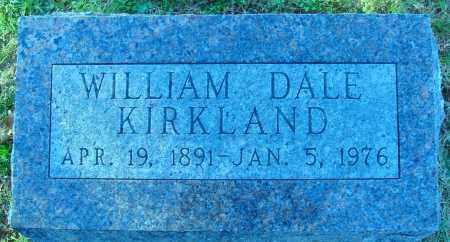 KIRKLAND, WILLIAM DALE - Conway County, Arkansas | WILLIAM DALE KIRKLAND - Arkansas Gravestone Photos