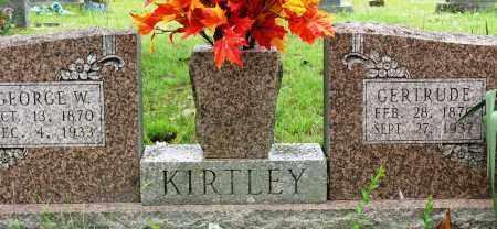 KIRTLEY, GERTRUDE - Conway County, Arkansas | GERTRUDE KIRTLEY - Arkansas Gravestone Photos