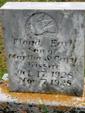 KISSIRE, FLOYD EARL - Conway County, Arkansas   FLOYD EARL KISSIRE - Arkansas Gravestone Photos