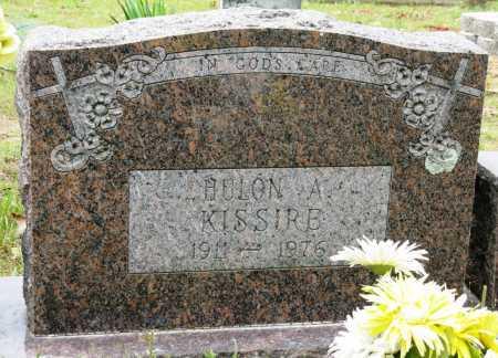 KISSIRE, HULON A - Conway County, Arkansas | HULON A KISSIRE - Arkansas Gravestone Photos