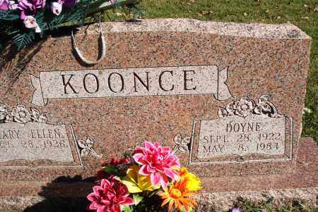 KOONCE, DOYNE - Conway County, Arkansas | DOYNE KOONCE - Arkansas Gravestone Photos
