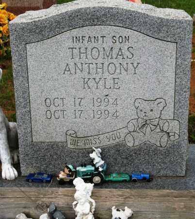 KYLE, THOMAS ANTHONY - Conway County, Arkansas | THOMAS ANTHONY KYLE - Arkansas Gravestone Photos
