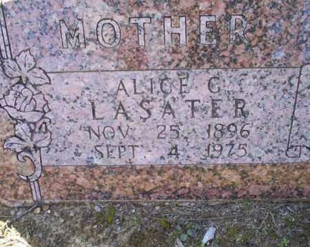 LASATER, ALICE G. - Conway County, Arkansas   ALICE G. LASATER - Arkansas Gravestone Photos