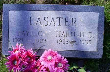 LASATER, HAROLD D. - Conway County, Arkansas | HAROLD D. LASATER - Arkansas Gravestone Photos