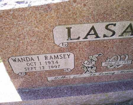 RAMSEY LASATER, WANDA I. - Conway County, Arkansas | WANDA I. RAMSEY LASATER - Arkansas Gravestone Photos