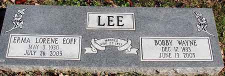 LEE, BOBBY WAYNE - Conway County, Arkansas | BOBBY WAYNE LEE - Arkansas Gravestone Photos