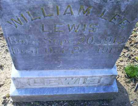 LEWIS, WILLIAM LEE - Conway County, Arkansas | WILLIAM LEE LEWIS - Arkansas Gravestone Photos