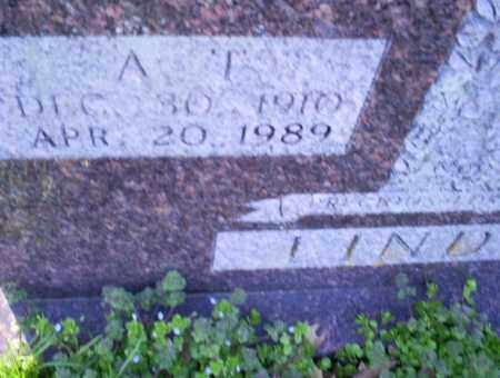 LINDSEY, A. T. - Conway County, Arkansas | A. T. LINDSEY - Arkansas Gravestone Photos