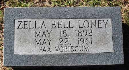 LOONEY, ZELLA BELL - Conway County, Arkansas | ZELLA BELL LOONEY - Arkansas Gravestone Photos