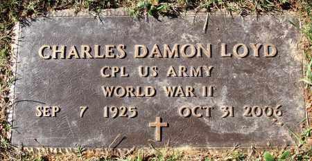 LOYD  (VETERAN WWII), CHARLES DAMON - Conway County, Arkansas   CHARLES DAMON LOYD  (VETERAN WWII) - Arkansas Gravestone Photos