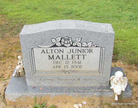 MALLETT, ALTON JUNIOR - Conway County, Arkansas | ALTON JUNIOR MALLETT - Arkansas Gravestone Photos