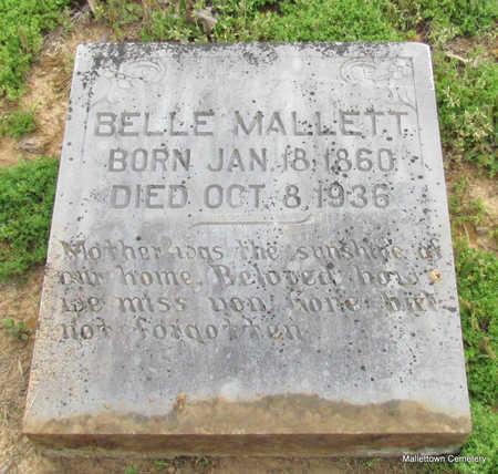 """MALLETT, MARGARET ISABELLA """"BELLE"""" - Conway County, Arkansas   MARGARET ISABELLA """"BELLE"""" MALLETT - Arkansas Gravestone Photos"""