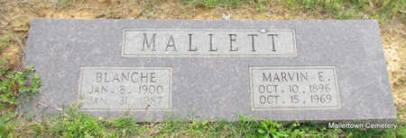 MALLETT, BLANCHE - Conway County, Arkansas | BLANCHE MALLETT - Arkansas Gravestone Photos