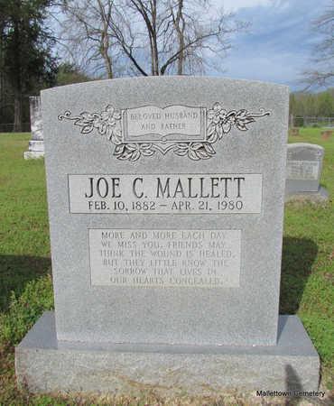 MALLETT, JOE C. - Conway County, Arkansas   JOE C. MALLETT - Arkansas Gravestone Photos