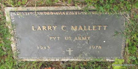 MALLETT  (VETERAN), LARRY C - Conway County, Arkansas | LARRY C MALLETT  (VETERAN) - Arkansas Gravestone Photos
