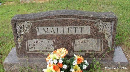 MALLETT, LARRY C. - Conway County, Arkansas | LARRY C. MALLETT - Arkansas Gravestone Photos