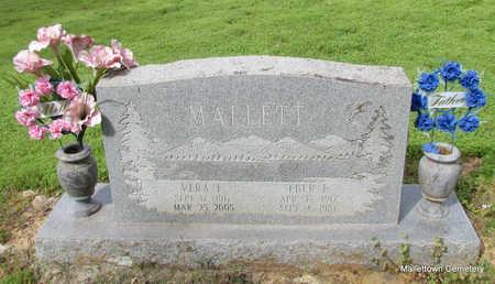 MALLETT, VERA ELIZABETH - Conway County, Arkansas | VERA ELIZABETH MALLETT - Arkansas Gravestone Photos