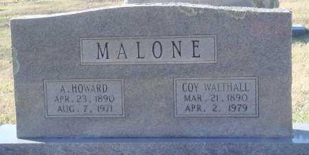 MALONE, COY - Conway County, Arkansas | COY MALONE - Arkansas Gravestone Photos