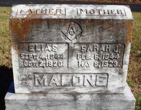 MALONE, ELIAS - Conway County, Arkansas | ELIAS MALONE - Arkansas Gravestone Photos