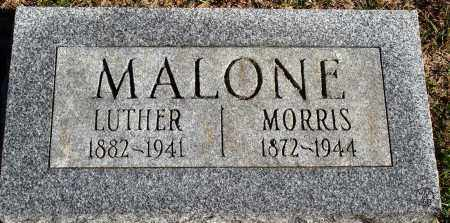 MALONE, LUTHER - Conway County, Arkansas | LUTHER MALONE - Arkansas Gravestone Photos
