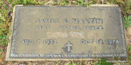 MARTIN  (VETERAN), JAMES LUTHER - Conway County, Arkansas   JAMES LUTHER MARTIN  (VETERAN) - Arkansas Gravestone Photos