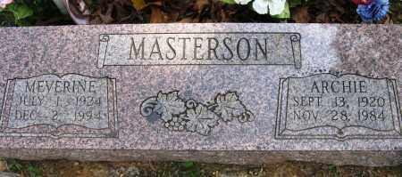 MASTERSON, MEVERINE - Conway County, Arkansas | MEVERINE MASTERSON - Arkansas Gravestone Photos