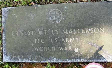 MASTERSON (VETERAN WWII), ERNEST WELLS - Conway County, Arkansas   ERNEST WELLS MASTERSON (VETERAN WWII) - Arkansas Gravestone Photos