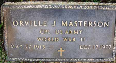 MASTERSON (VETERAN WWII), ORVILLE J - Conway County, Arkansas | ORVILLE J MASTERSON (VETERAN WWII) - Arkansas Gravestone Photos