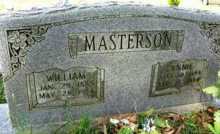 MASTERSON, WILLIAM - Conway County, Arkansas | WILLIAM MASTERSON - Arkansas Gravestone Photos