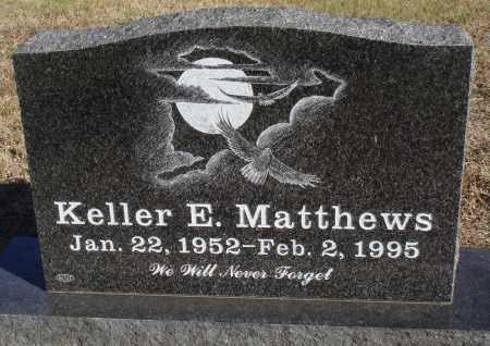 MATTHEWS, KELLER E. - Conway County, Arkansas | KELLER E. MATTHEWS - Arkansas Gravestone Photos