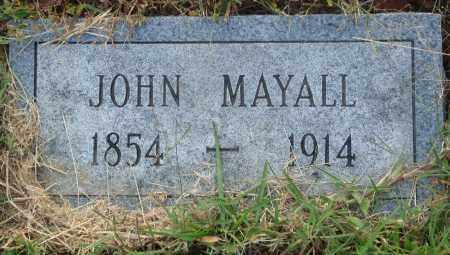 MAYALL, JOHN - Conway County, Arkansas | JOHN MAYALL - Arkansas Gravestone Photos