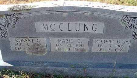 MCCLUNG, JR., ROBERT C. - Conway County, Arkansas | ROBERT C. MCCLUNG, JR. - Arkansas Gravestone Photos